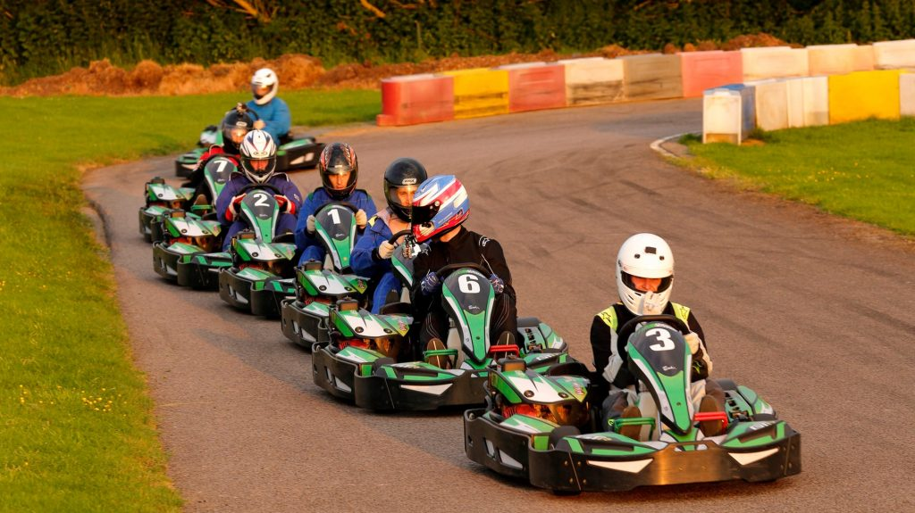 Evening Racing at Sutton Circuit