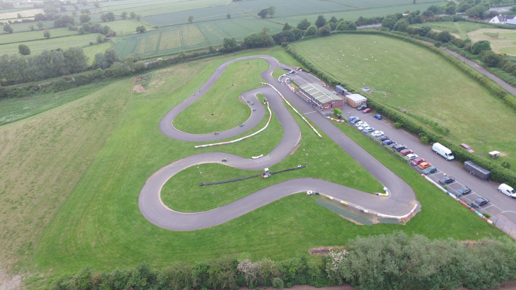 Suttton Circuit from the air