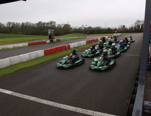 Rugby Kart Club Racing Lap Video of Sutton Circuit