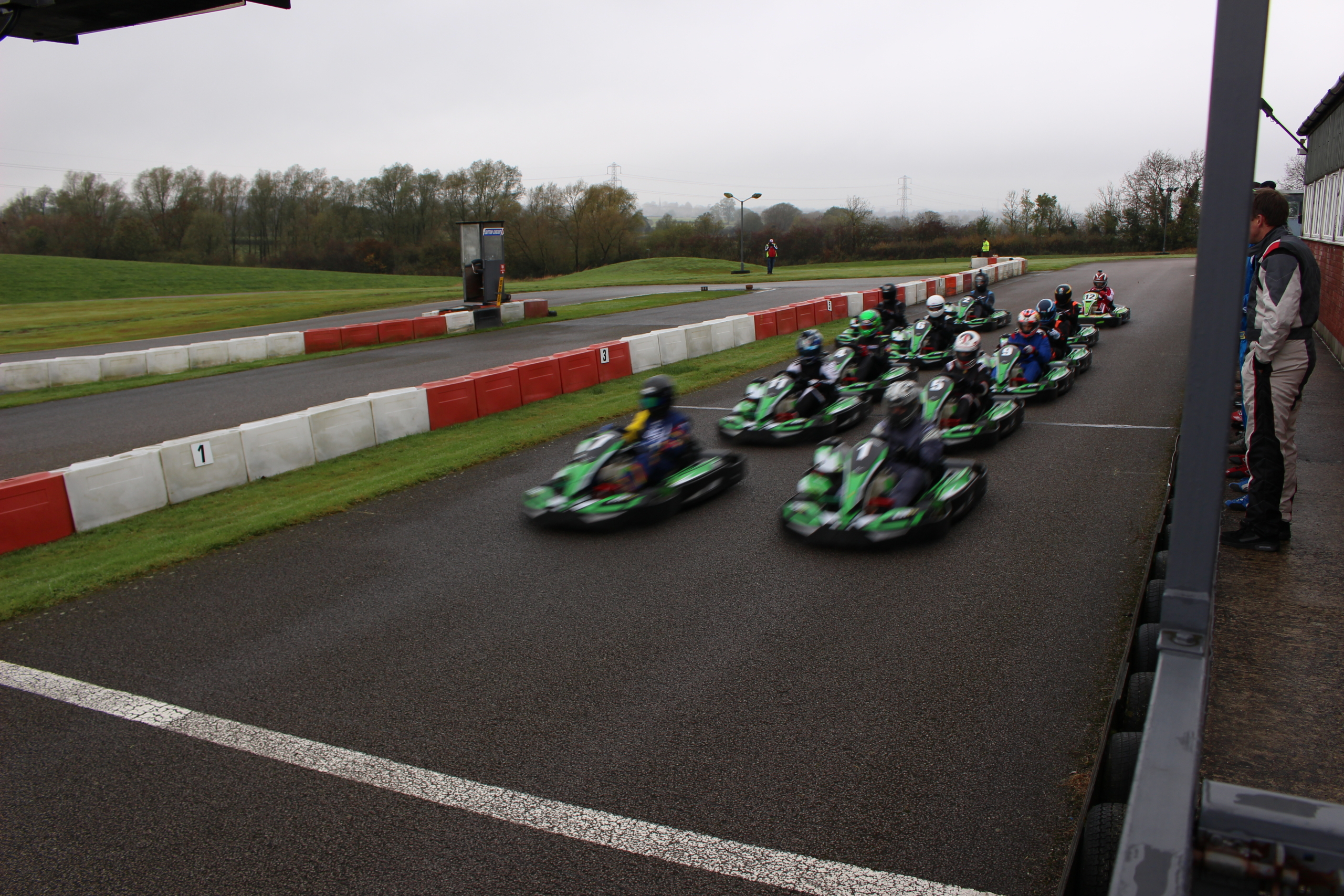 Rugby Kart Club at Sutton Circuit in November 2016