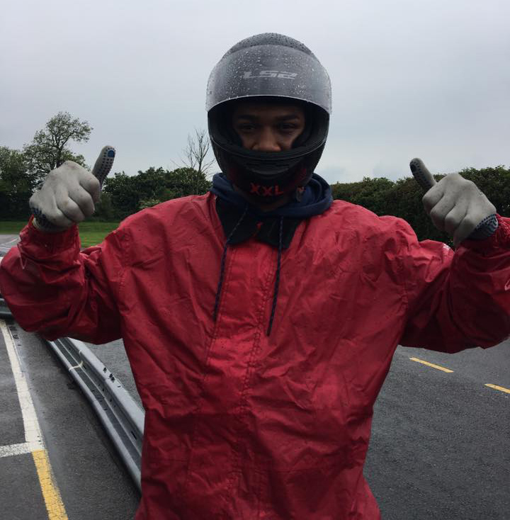 Anthony Joshua Karting at Sutton Circuit