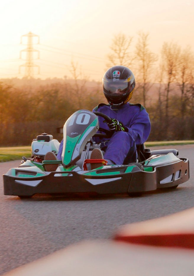 Go Karting in Leicester at Sutton Circuit