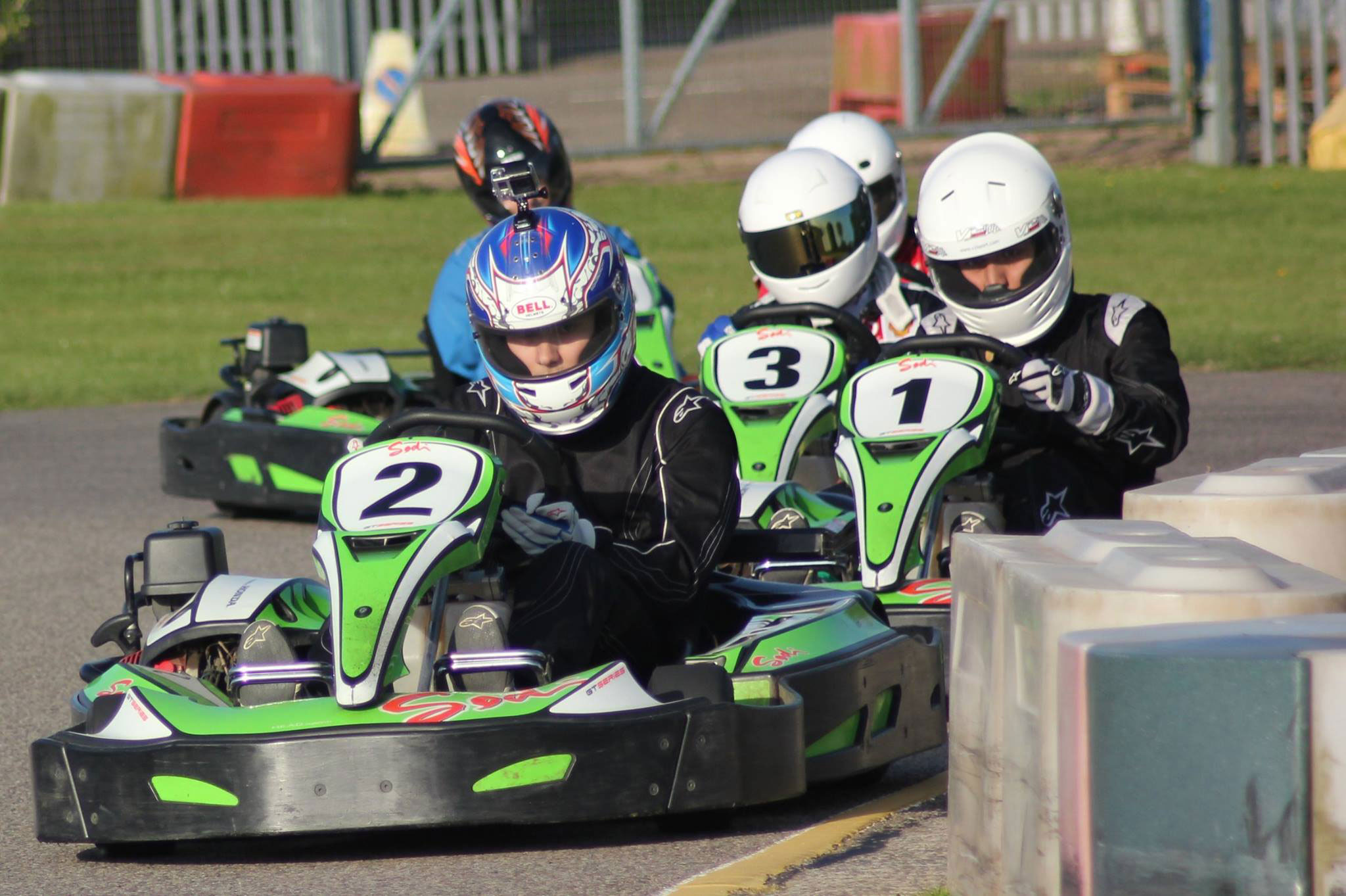 Outdoor Go Karting Event Formats at Sutton Circuit in Leicestershire